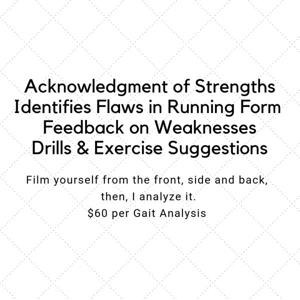 Running Form Analysis