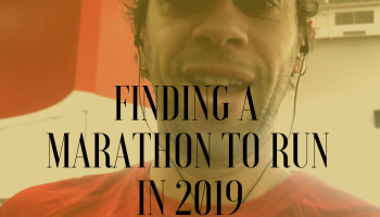 finding a marathon to run