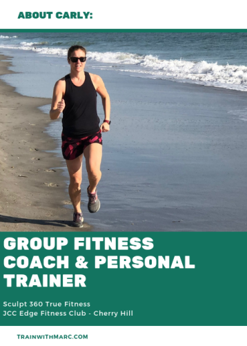 Carly joins TrainwithMarc as a personal trainer & group fitness coach