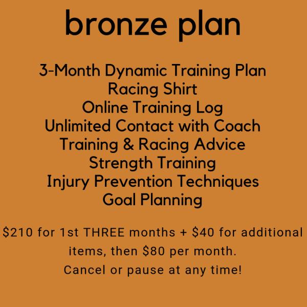 Bronze Training Plan