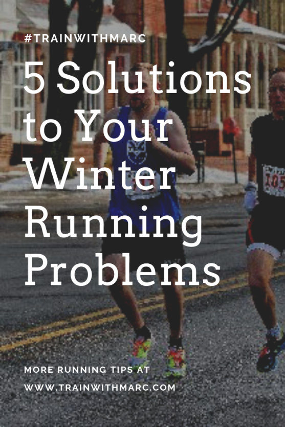 5 solutions to winter running problems