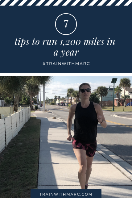 7 tips to run 1,200 miles in a year
