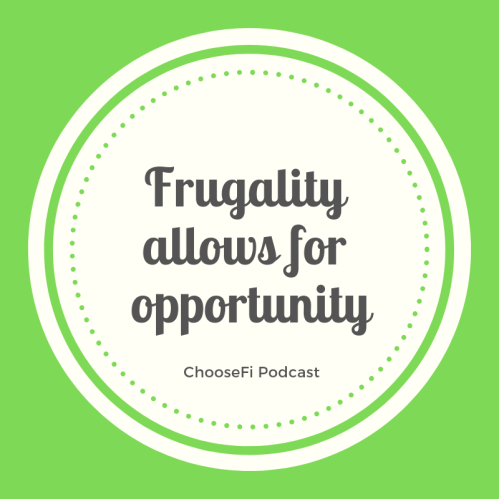 ChooseFI podcast quote