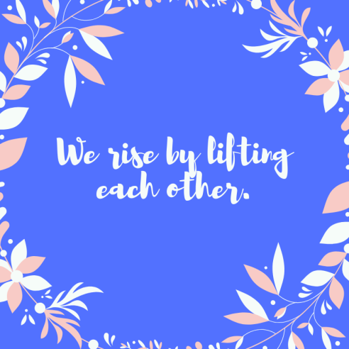 We all gain by helping each other