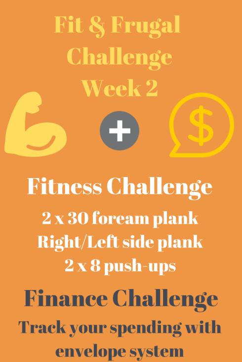 Week 2 Challenge: Pushups, Planks & Budgeting