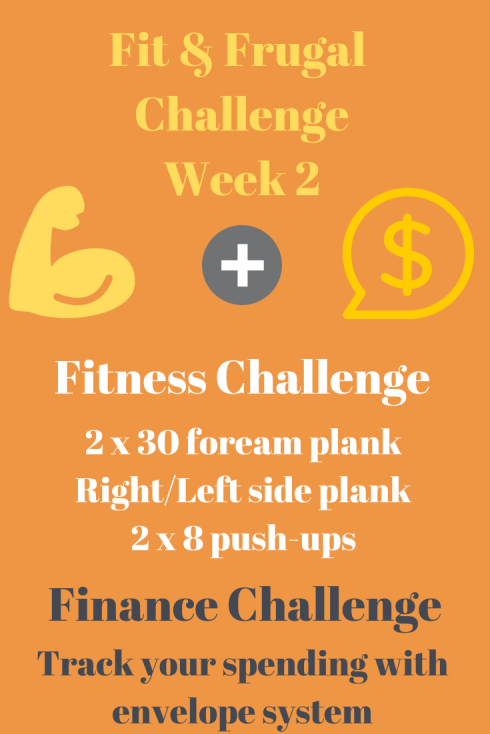 Week 2 Challenge: Pushups, Planks & Budgeting
