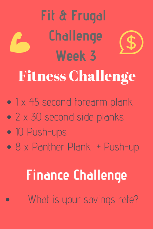 Fitness & Finance Challenge