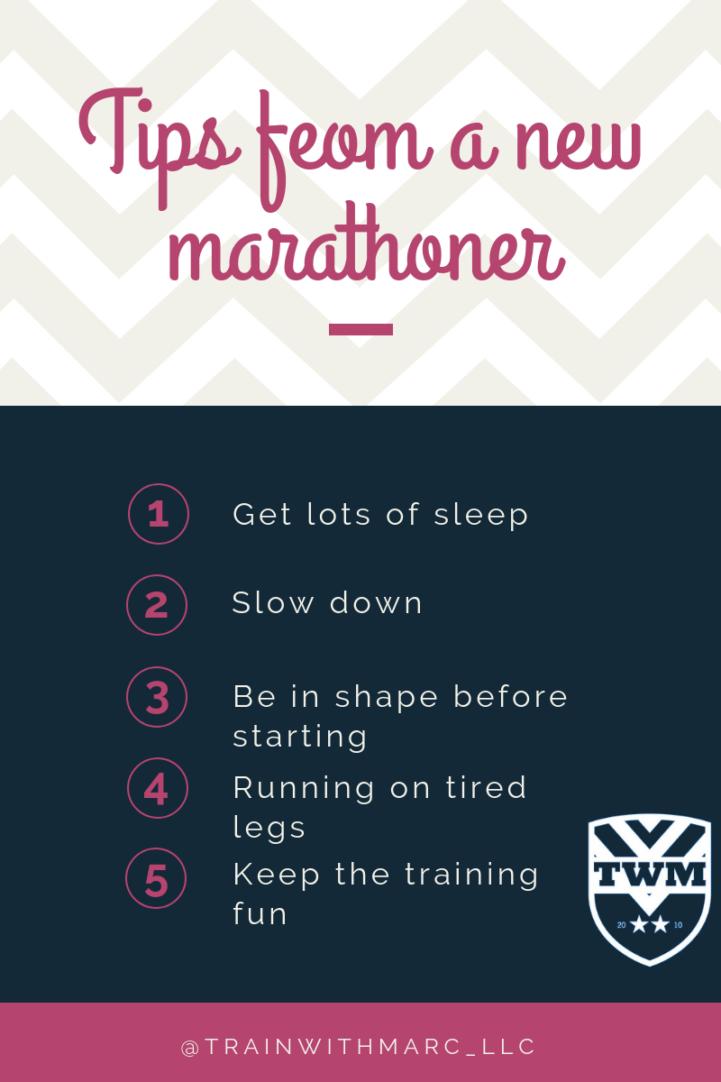 5 of the most important tips any marathon runner needs to remember