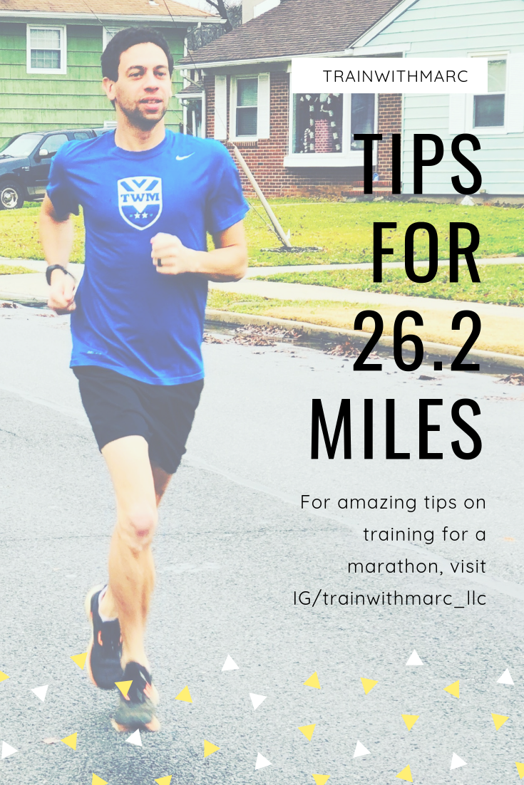 Tips for 26.2 miles