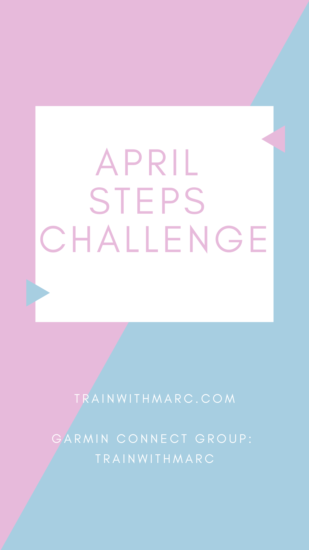 Sign up using Garmin Connect. Track your steps. Win prizes throughout the month.