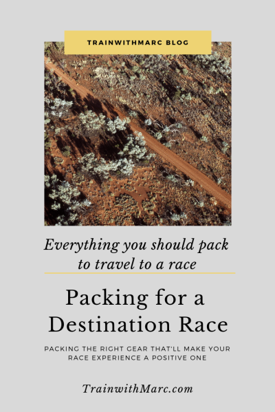 9 Things You Absolutely Should Pack for a Destination Race