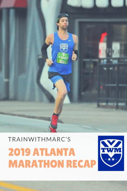 Recapping the training leading up to the Atlanta Marathon