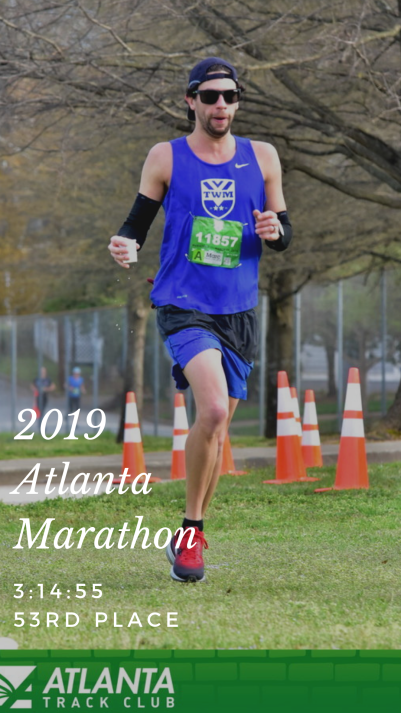 Reviewing my race effort for the Atlanta Marathon