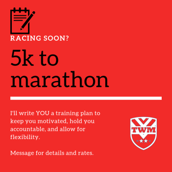 Customized training plans for your next race
