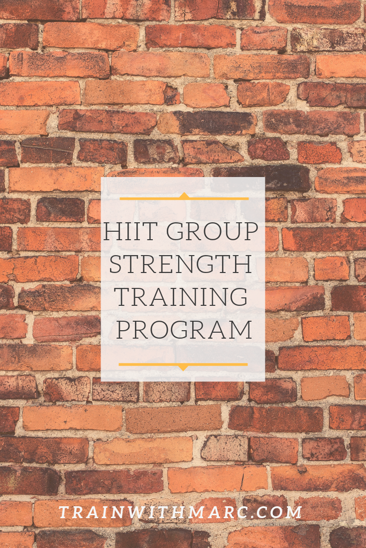 HIIT Group Strength Training Program