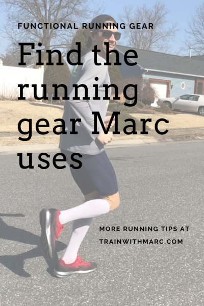 Running Tips can be found at TrainwithMarc.com