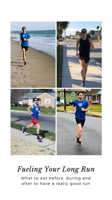 3 times you can work on fueling your long run: before, during and after