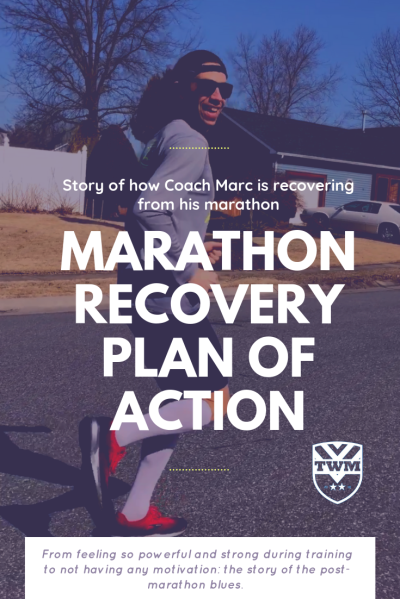 The story of how Coach Marc is recovering from his marathon
