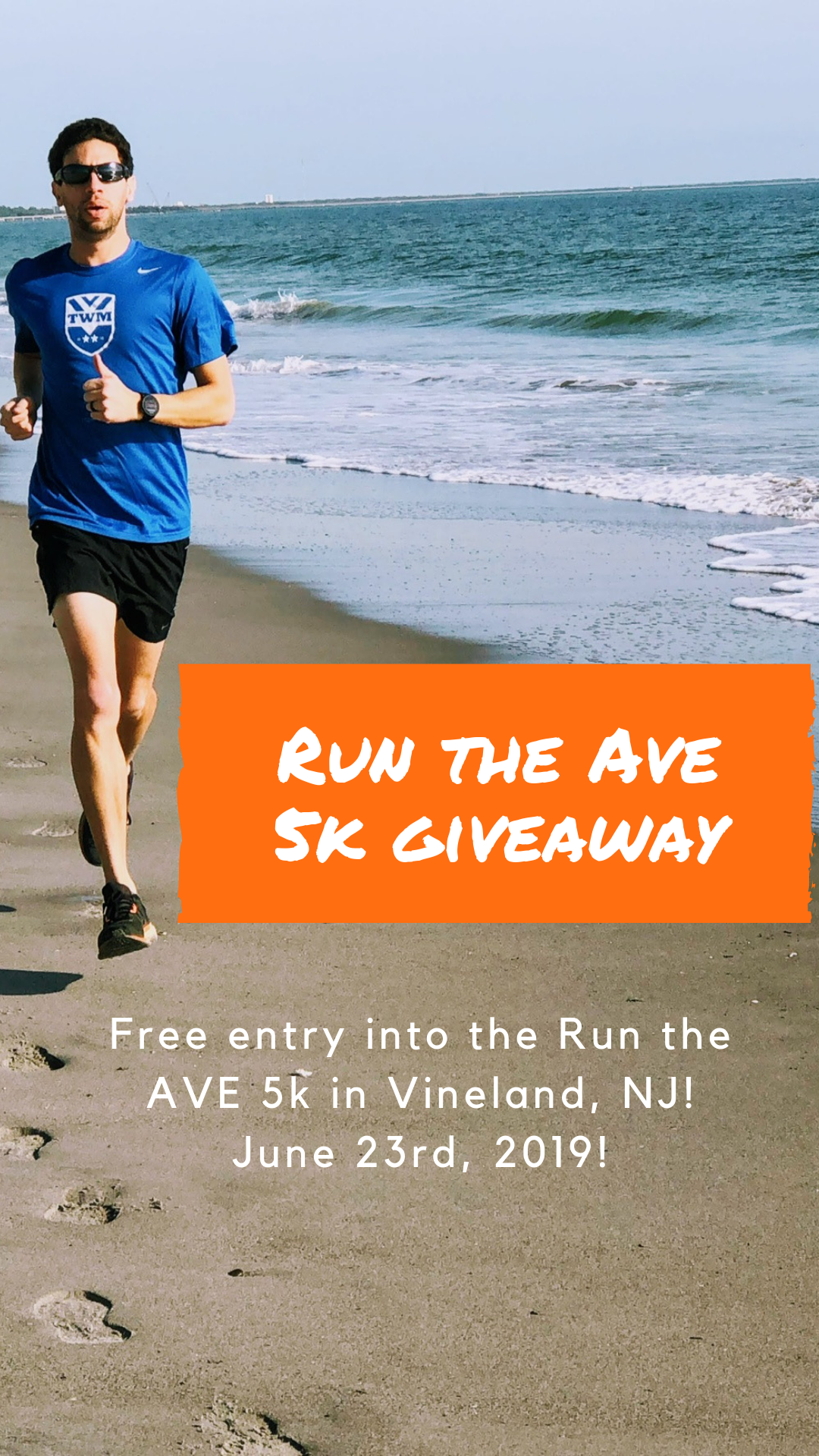 Register for a chance at a free entry into the Run the Ave 5k
