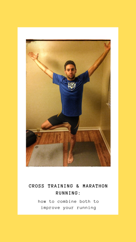 How to combine cross training and running to improve your running