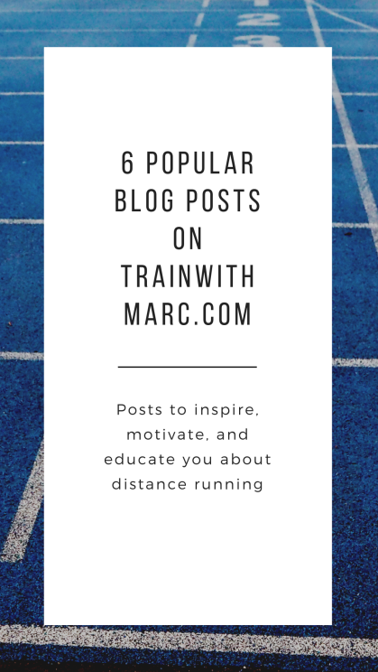 6 great blog posts worth rereading on TrainwithMarc.com
