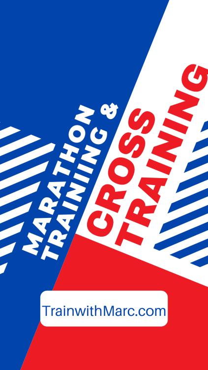 Cross training enhances your marathon training by allowing you to do more work without the pounding from running