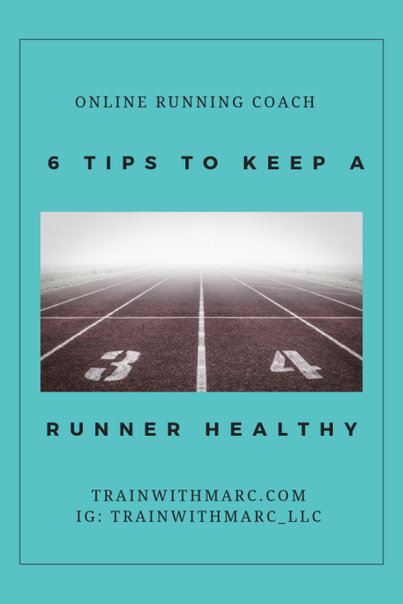 6 tips to keep a runner healthy