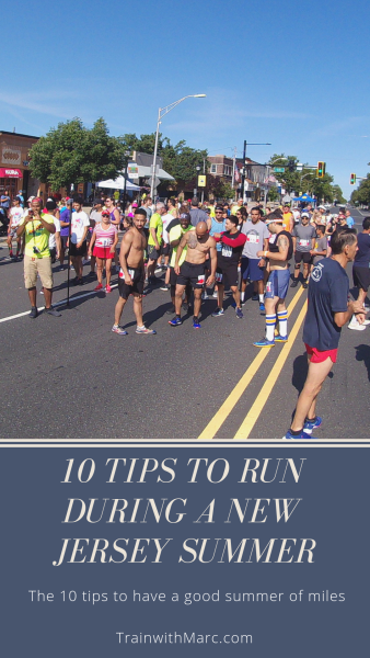 10 tips to run well during a New Jersey summer