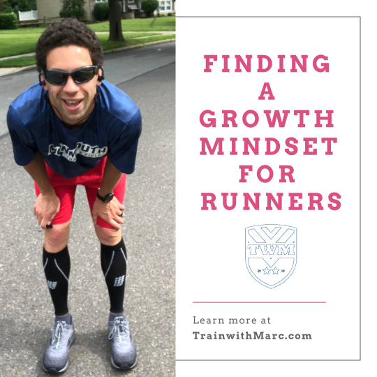 Fostering a growth mindset for distance runners