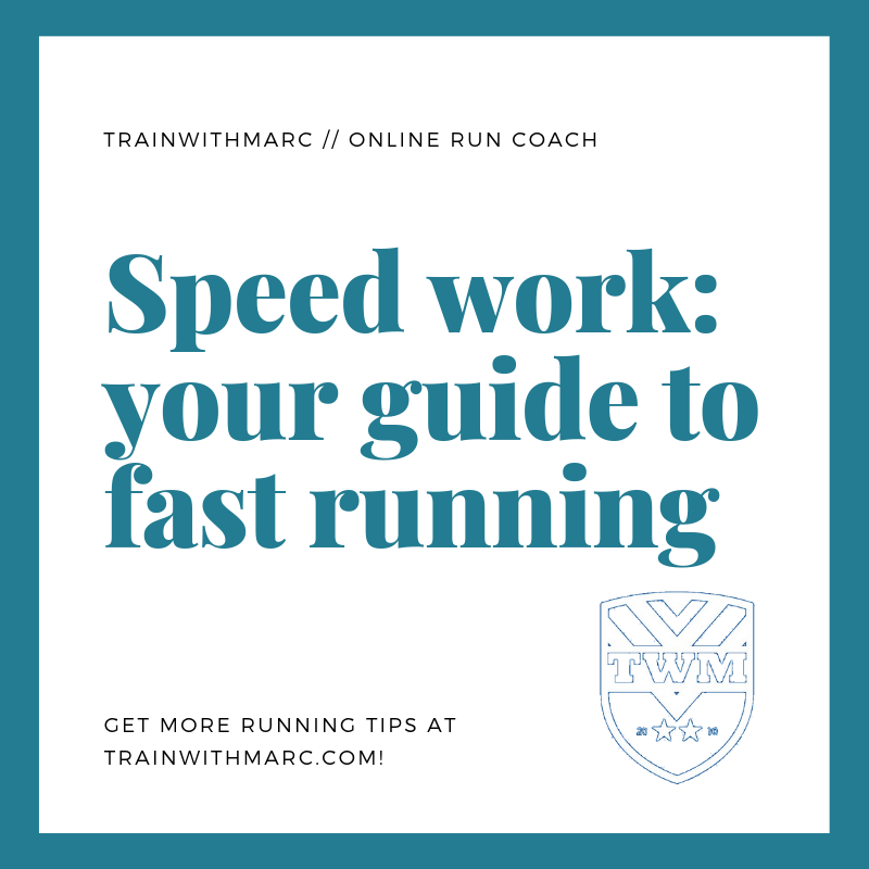 To effectively incorporate speed, a good base of training should be done first