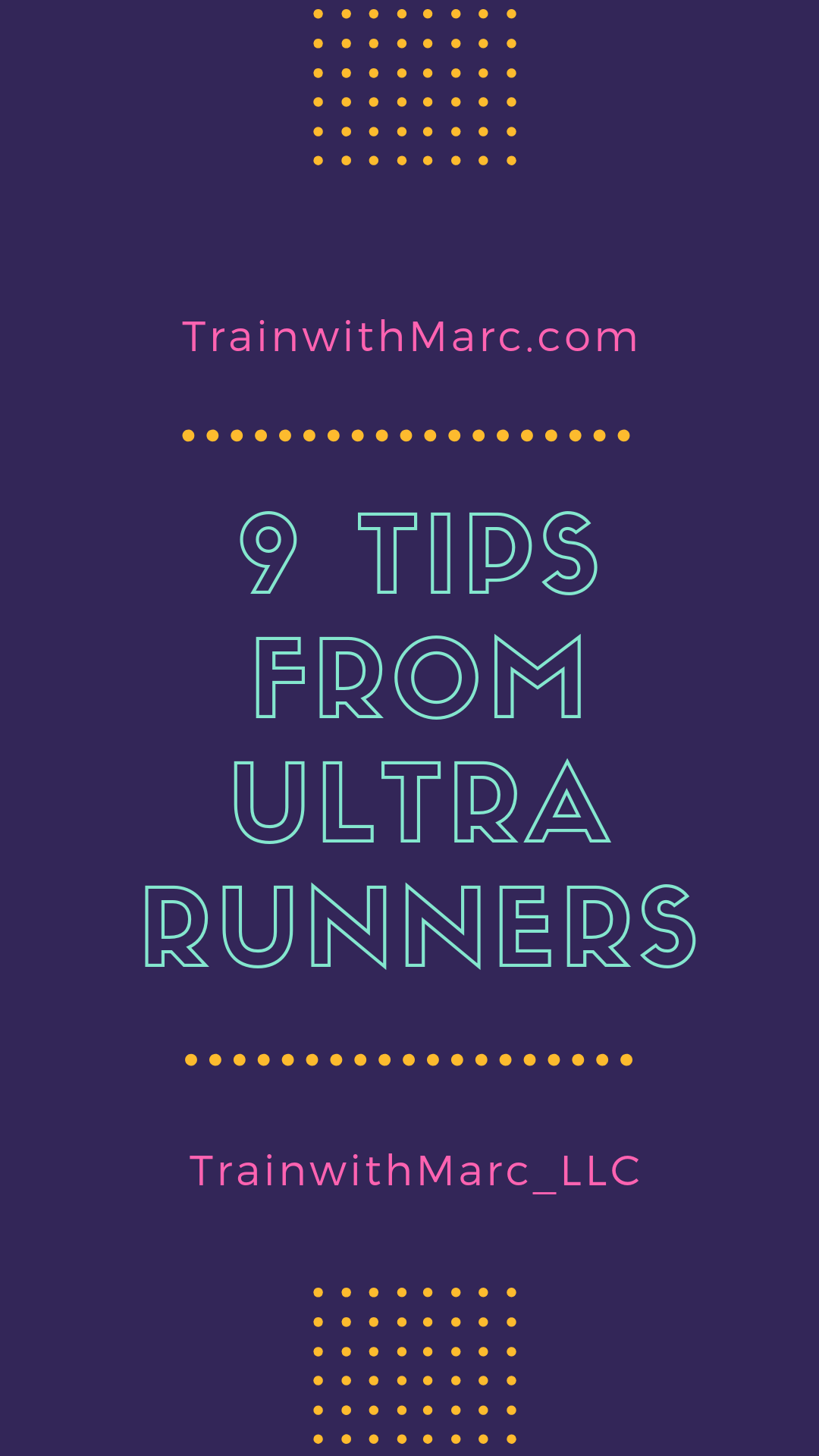 9 tidbits we can learn from the ultramarathon community