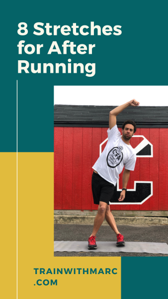 A static stretch routine for runners to use after a run