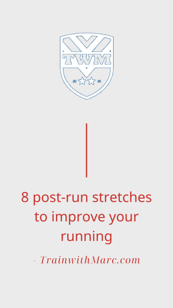 Post-run stretching routine for runners to follow