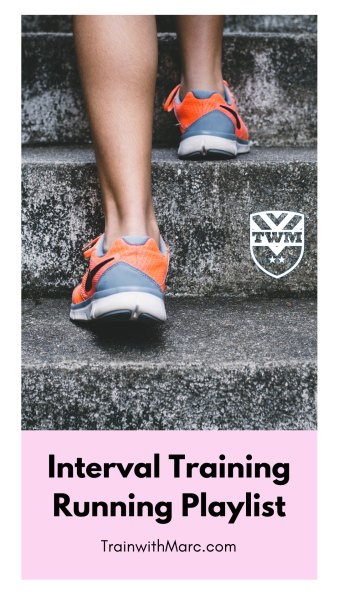 Interval training running playlist