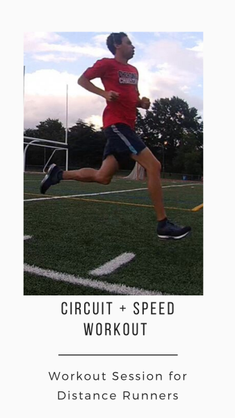 Coach Marc uses speed and strength work to improve his running