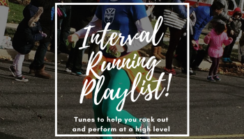 Interval running music playlist