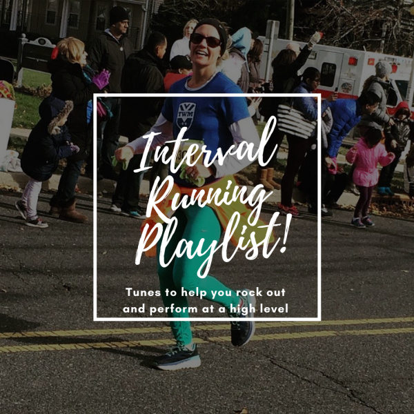 Interval running music playlist