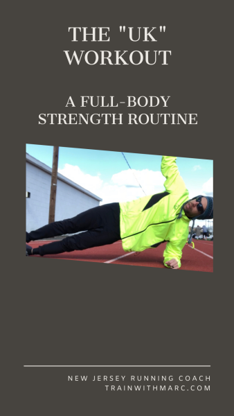 Full-body strength routine for distance runners
