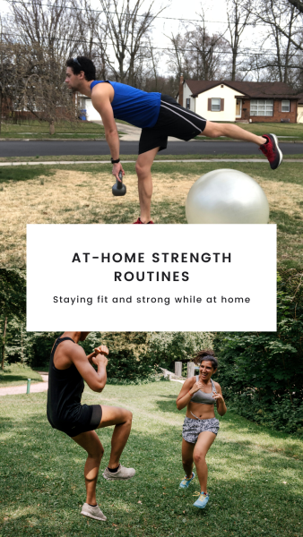 Strength training ideas for at-home workouts