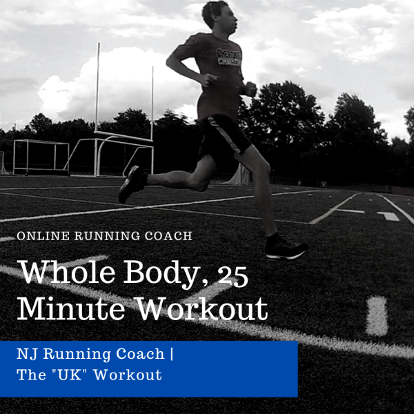 whole-body, 25 minute workout for runners
