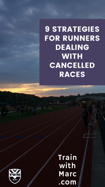9 tactics to follow when dealing with a cancelled race