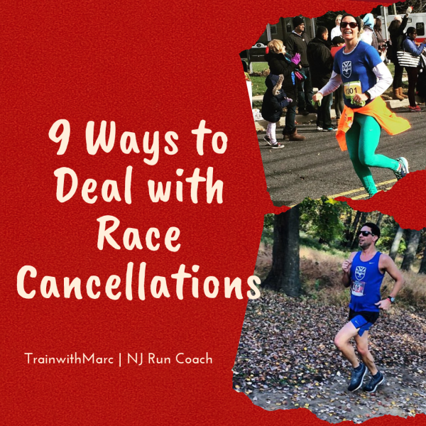9 Tips to Cope with a Cancelled Race