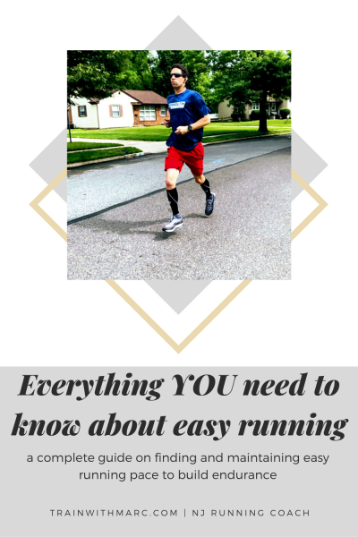 Work on building endurance by running more often at your easy run pace