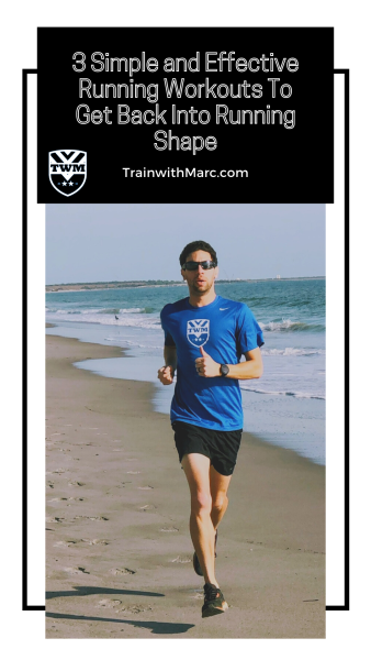 Coach Marc uses fartlek running to work on running by effort