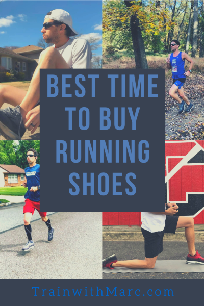 Purchasing running shoes & the best time to do so