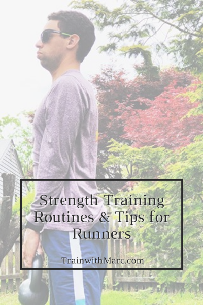 Strength training is an important aspect of distance running