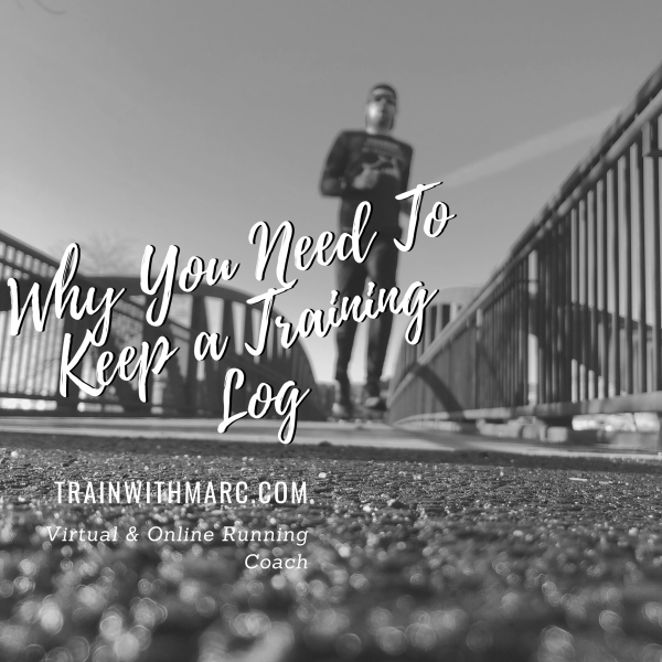 A training log allows you to track your training over a long period of time, giving you context and motivation for future running