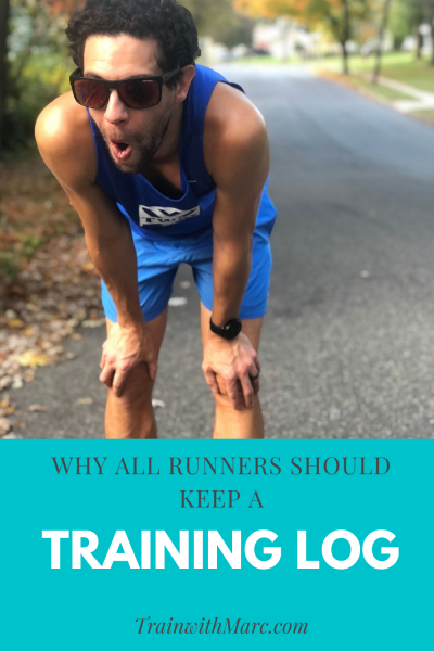 Training logs help you check in on training you've already done and plan for runs you haven't done yet.