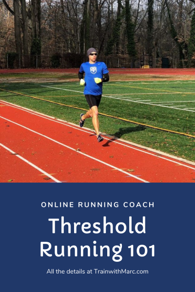 Threshold and tempo runs are key to running improvement