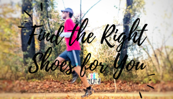 You need to be in the right running shoe. Here's how to find them